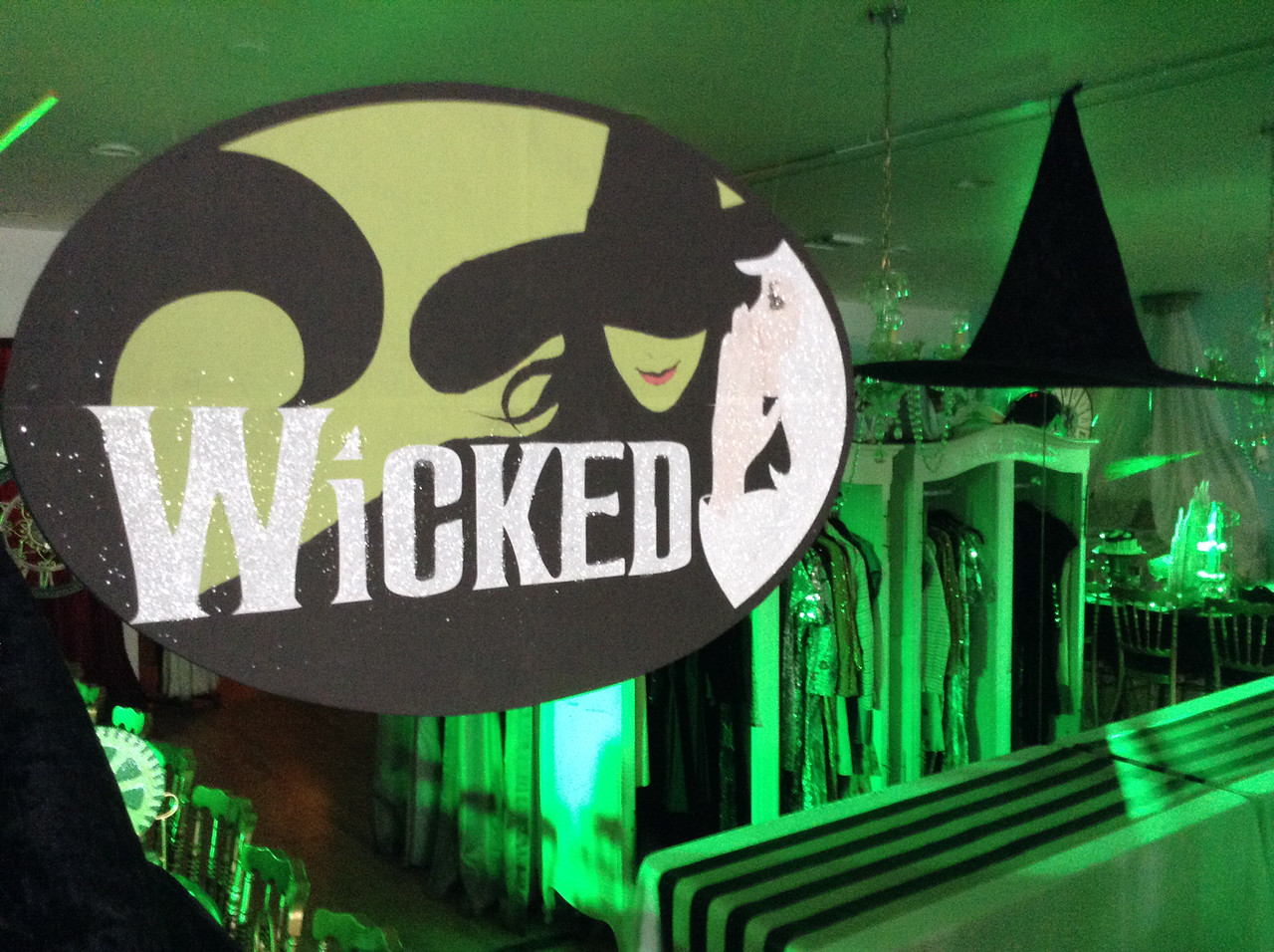 Wicked party children s tea theme design character